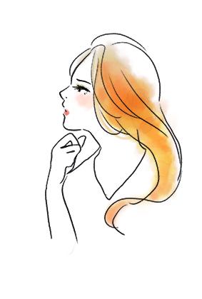 Web屋が描いた女性向けオシャレ風味なフリーイラスト素材